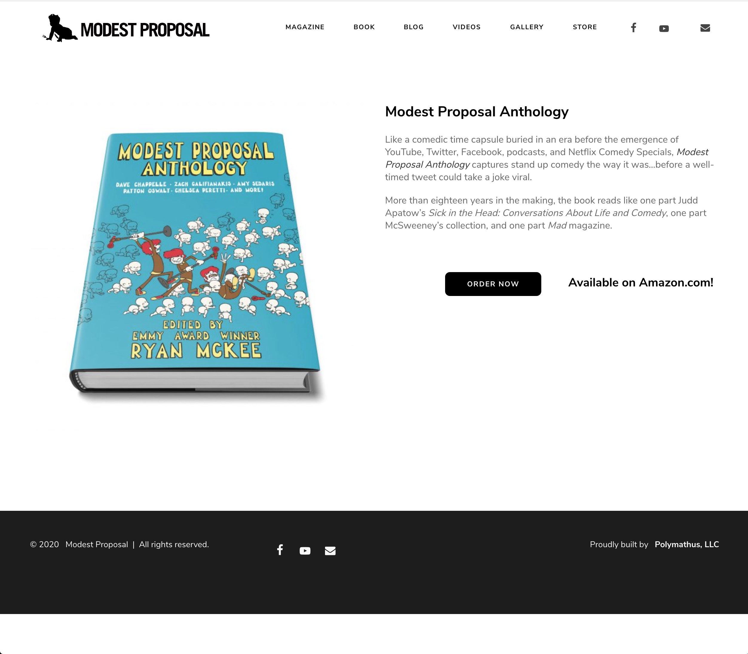 Modest Proposal Anthology